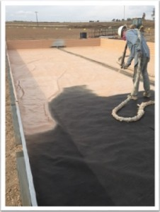 Spraying Liner for Secondary Containment